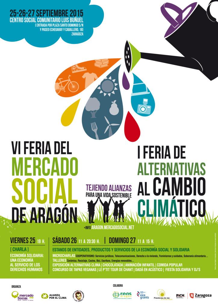 Cartel VI FERIA Mercado Social